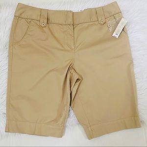 NWT Westbound Woman Khaki Shorts Sz 18W